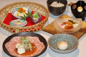 今月のおすすめ料理 一汁三菜コース